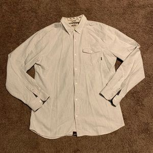 Vans Off The Wall Button Down Shirt Long Sleeve